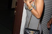 Rihanna Quilted Leather Bag