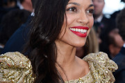 Rosario Dawson Long Side Part