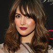 Rose Byrne Hair - Long Wavy Cut with Bangs
