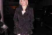 Rose McGowan Evening Coat