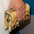 Rose McGowan Studded Clutch
