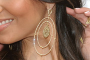 Roselyn Sanchez Diamond Hoops