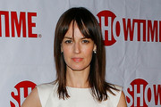 Rosemarie Dewitt Medium Straight Cut with Bangs