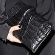Rumer Willis Oversized Clutch