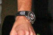 Ryan Seacrest Leather Band Quartz Watch