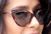 Salma Hayek Cateye Sunglasses