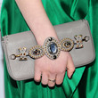 Sami Gayle Handbags - Gemstone Inlaid Clutch