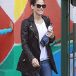 Sandra Bullock Clothes - Leather Coat