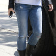 Sandra Bullock Clothes - Ripped Jeans