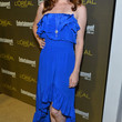 Sarah Drew Clothes - Strapless Dress
