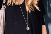 Sarah Michelle Gellar Gold Charm Necklace