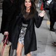 Selena Gomez Evening Coat