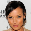 Selita Ebanks Hair - Short cut with bangs