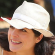 Selma Blair Straw Hat