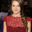 Shailene Woodley Long Braided Hairstyle