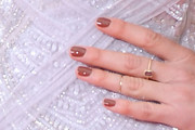 Shailene Woodley Neutral Nail Polish