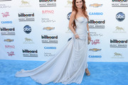 Shania Twain Strapless Dress