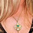 Shannon Tweed Jewelry - Gold Pendant