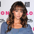 Sharni Vinson Hair - Medium Wavy Cut with Bangs