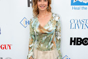 Sharon Lawrence Print Blouse