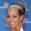 Shaun Robinson Hair - Braided Bun