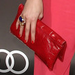 Shermine Shahrivar Leather Clutch