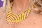 Sheryl Crow Gold Statement Necklace