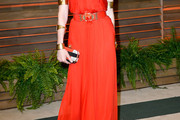 Sienna Miller Strapless Dress