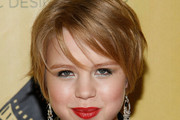 Sofia Vassilieva Short cut with bangs