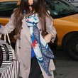 Sofia Vergara Patterned Scarf