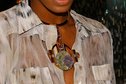 Solange Knowles Gold Choker Necklace