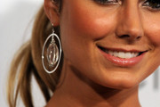 Stacy Keibler Sterling Hoops