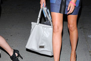 Stephanie Pratt Patent Leather Tote