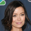 Summer Glau Messy Updo
