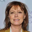 Susan Sarandon Hair - Medium Straight Cut with Bangs