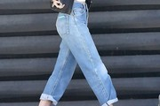 Tallulah Willis High-Waisted Jeans