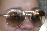 Tameka Cottle Aviator Sunglasses