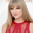 Taylor Swift Long Straight Cut with Bangs