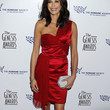 Teri Hatcher Clothes - One Shoulder Dress
