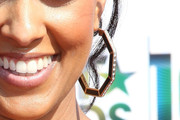 Tia Mowry Gold Hoops