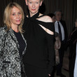 Tilda Swinton Fitted Blouse