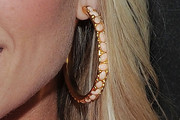 Tinsley Mortimer Gold Hoops