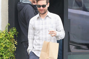 Tobey Maguire Button Down Shirt