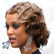 Tyra Banks Hair - Retro Updo