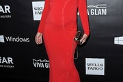 Milla Jovovich Maternity Dress