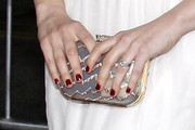Vera Farmiga Gemstone Inlaid Clutch