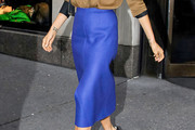 Victoria Beckham Knee Length Skirt