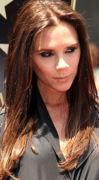 Victoria Beckham Hair - Long Center Part