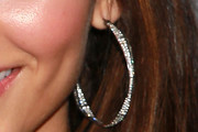 Victoria Justice Diamond Hoops