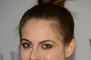 Willa Holland Twisted Bun